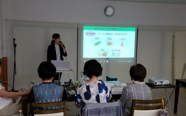 ライフデザイン阪急阪神で健康セミナーを実施しました