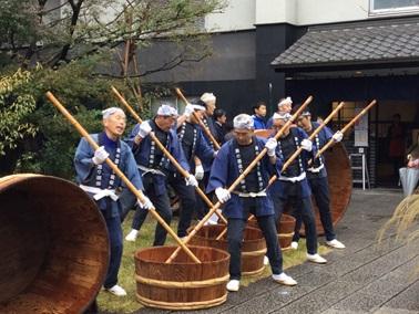 神戸酒心館蔵開きで健康測定会を実施しました