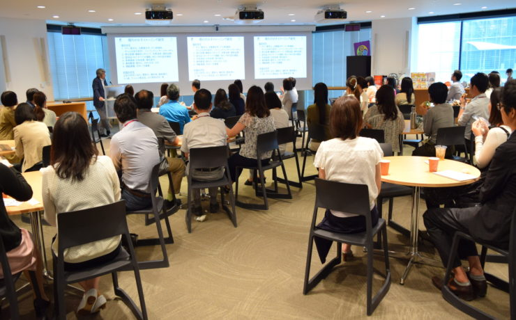 アストラゼネカ株式会社大阪本社にて社内健康測定会を行いました