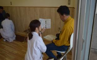 奈良競輪場にて健康測定会を実施いたしました