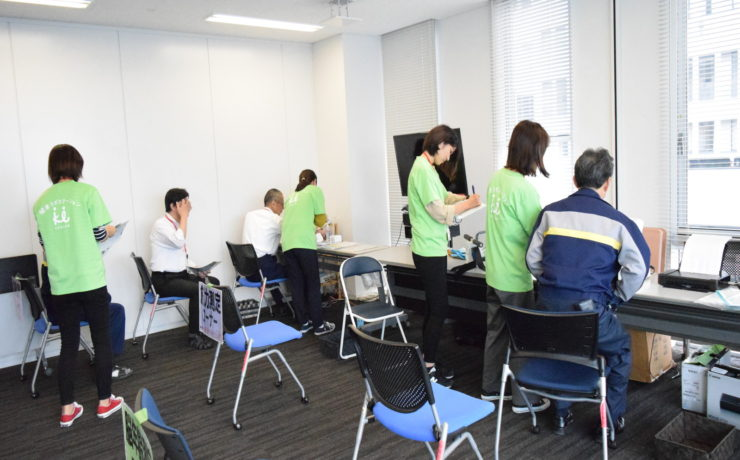株式会社NTTネオメイト様で社内測定会を実施しました