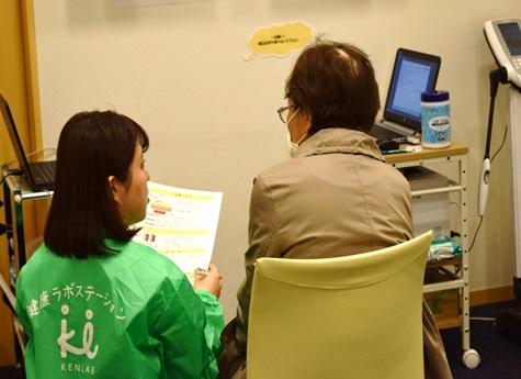 メディカルハート奈良にて春の健康フェアを実施しました