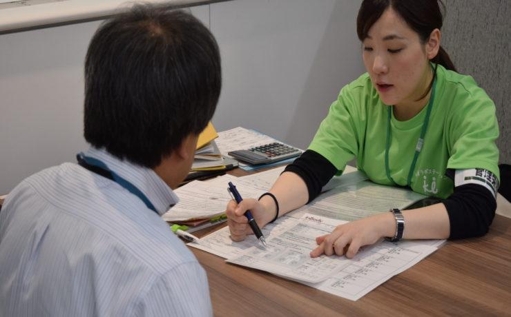 コニカミノルタ西本町にて、社員様向け健康測定会を実施しました!