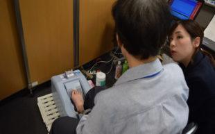 """第19回ワダカルシウム製薬""""歩こう会""""で骨密度測定を実施しました"""