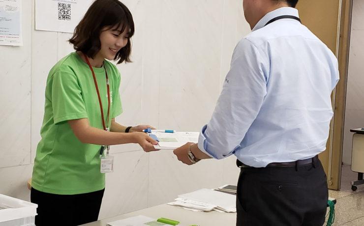 阪急阪神ホールディングス株式会社にて、社員様向け計測会を実施しました。