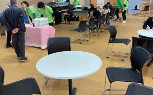 愛仁会リハビリテーション病院にて健康測定会を実施しました。