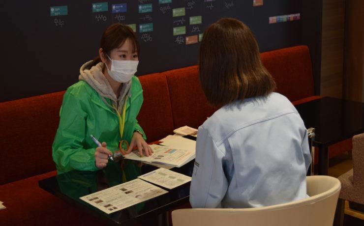 住友化学株式会社にて健康測定会を実施しました。