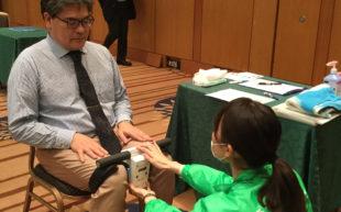NECソリューションイノベータ株式会社と健康測定会を実施しました。